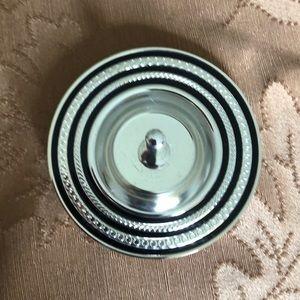 Vera wang silver ring holder